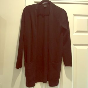 Theory cashmere long sweater with pockets